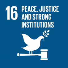 Development Goal - Peace, Justice, and Strong Institutions